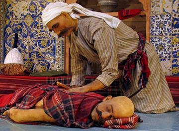 غمز و دلک ماساژ کهن ایرانی