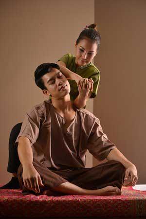 درمان با ماساز تایلندی